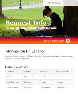 Informacion En Espanol