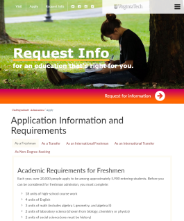 What are the requirments to get into a good college?
