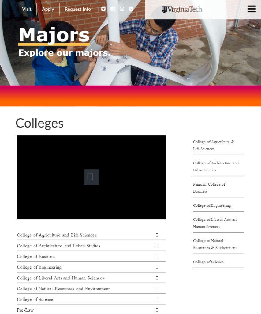 Undergraduate Admissions | Virginia Tech
